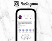 Custom Instagram Story Highlight Covers with Your Words Handwritten / Instagram Story Icons / Variety Pack up to 10 Custom