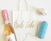 Custom gift bags + SMALL gift bags + Wedding gift bags + Bridal shower gift bag + Bachelorette Party bags + Welcome Bags / Handwritten