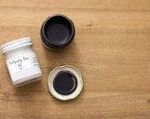 Calligraphy Ink in Glass Jars / Black or White Ink for Calligraphy