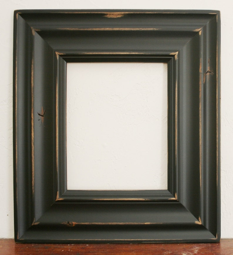 24x36 Picture Frame  Madera Style  White or Black  Knotty Alder