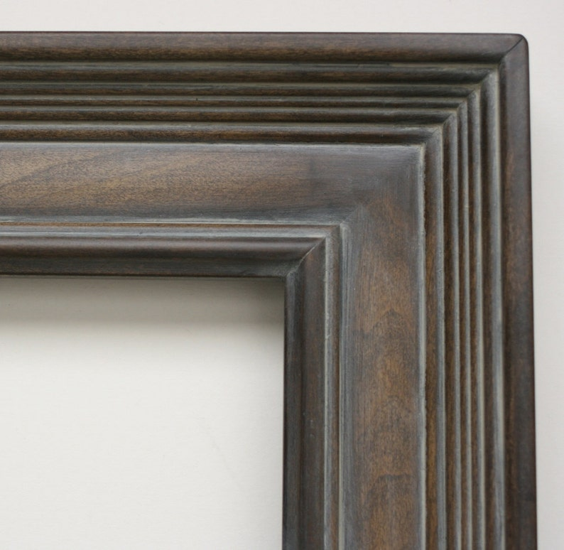 20x20 Picture Frame  Gray Washed Brown on Empire