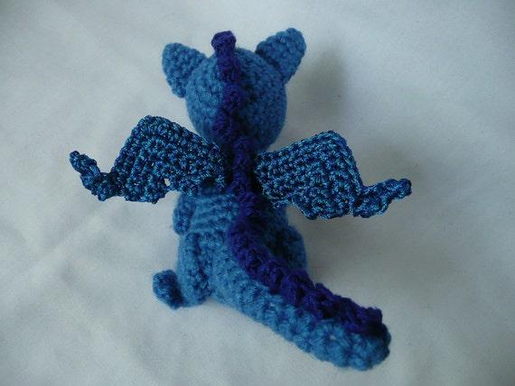 Baby Dragon Amigurumi Crochet Pattern | 428x570