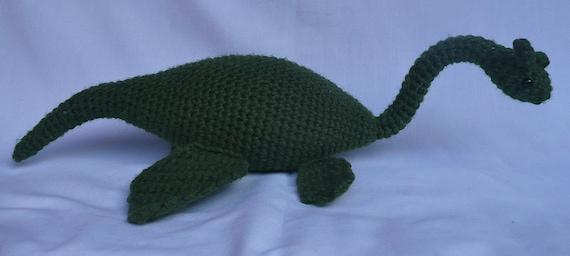 Loch Ness Monster Crochet Pattern PDF Instant Download | Etsy | 256x570
