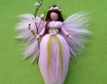 Needle Felted Wool Fairy or Angel Instructions Pattern PDF How to do Tutorial Guide