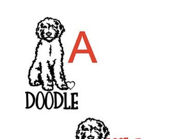 Doodle Inspired Vinyl Decal Sticker