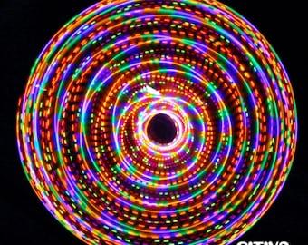 Custom Caribbean LED Hula Hoop