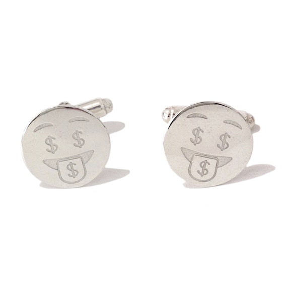 Jewel Tie 925 Sterling Silver Money Clip 30mm x 65mm