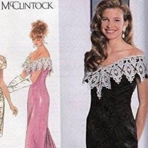Jessica McClintock Vintage Lace Dress