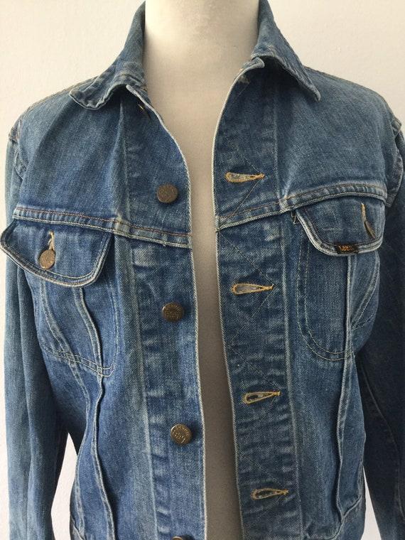 Cool Vintage Lee Sanforized Unisex Denim Jacket