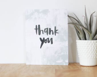 thank you card - are you my bestie, greeting, boyfriend, girlfriend, love, anniversary, best friend, handmade, abstract, brush lettering
