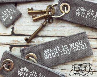fair trade key fobs