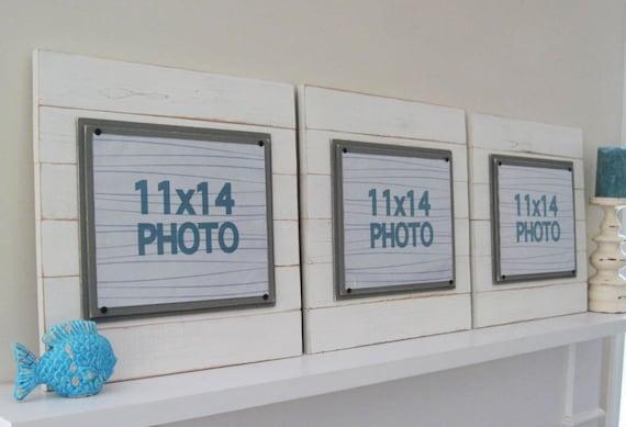 Conjunto de tres marcos XTRA grande antiguo tablón blanco de