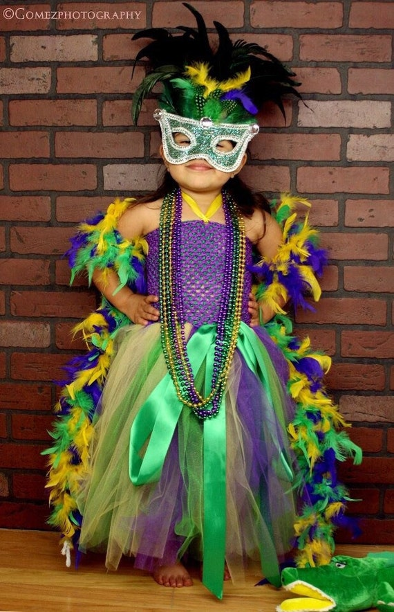 Mardi Gras Flower Girl Dresses