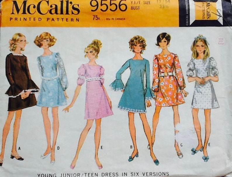 McCall's pattern 9556