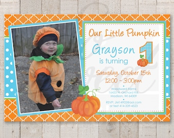 1st birthday invitations boy etsy boys pumpkin 1st birthday invitations boy little pumpkin birthday invites halloween invitations pumpkin patch invitations set of 10 filmwisefo
