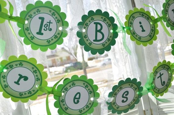 Green Clovers Patrick/'s Day Centerpiece Sticks St Patricks Day Decorations Shamrocks Set of 3 Sticks 1st Birthday Decorations St