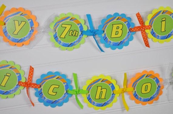 boys birthday banner laser tag party banner dart blaster gun party