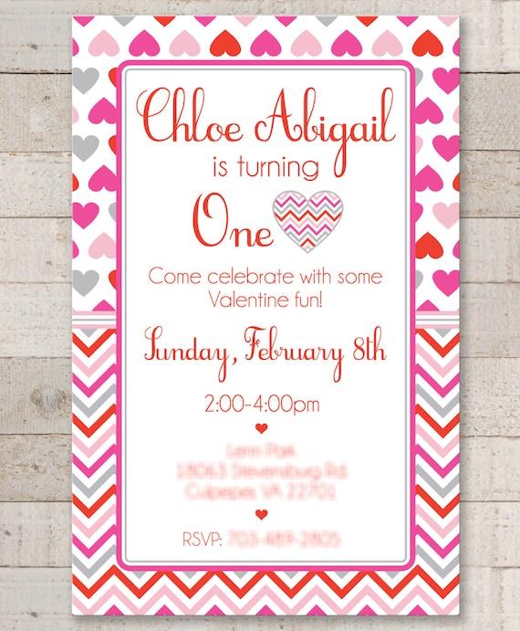 Valentine birthday invitations valentines day etsy image 0 filmwisefo