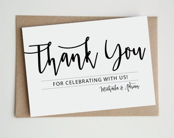 Thank You Cards Etsy Au