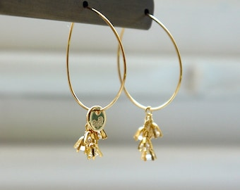 Pewter Penguin Charms on Sterling Silver French Hook Dangle Earrings-0464