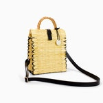 António - TOINO ABEL Straw Basket Bag - Tall Extra Small