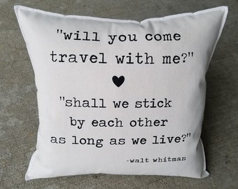 Will You Come Travel With Me