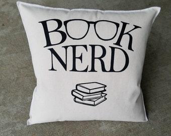 Book Nerd - Statement Pillow