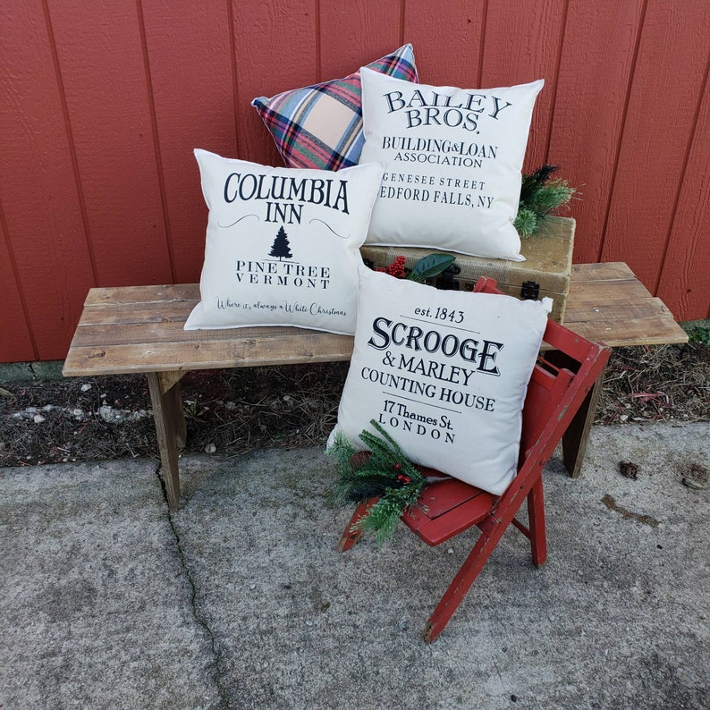 Scrooge Holiday Accent Pillow.