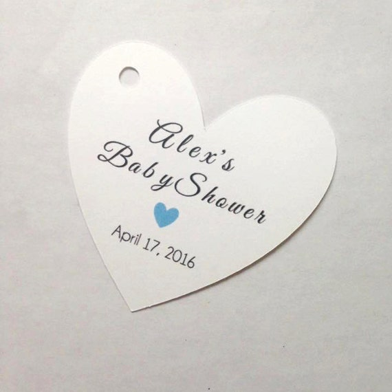 Baby Shower Custom Tags, various designs avail, with custom name, heart , custom tags, gift tags, favor tags, thank you tags, party favors,