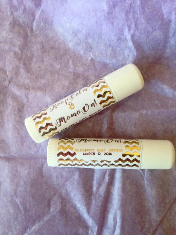 Personalized Custom Foiled, Gold foiled lip balm labels, DIY projects, various designs, wedding favors, baby showers, bridal showers, custom