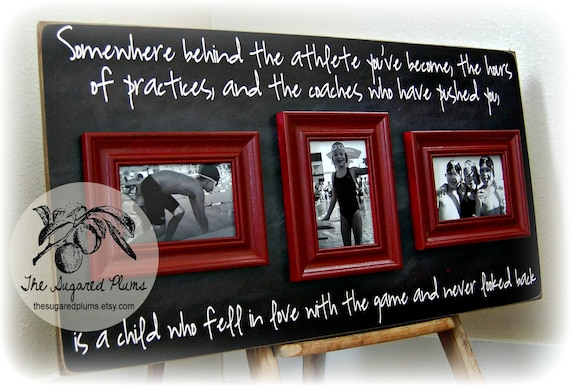 Custom Coach Picture Frame Gift Sisters Sports Dance Team Etsy