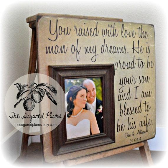 Ouders Dank U Geschenk Ouders Bedankt Cadeau Bruiloft Bruiloft Geschenken Aan Ouders Ouders Van De Bruid Ouders Van De Bruidegom 16 X 16