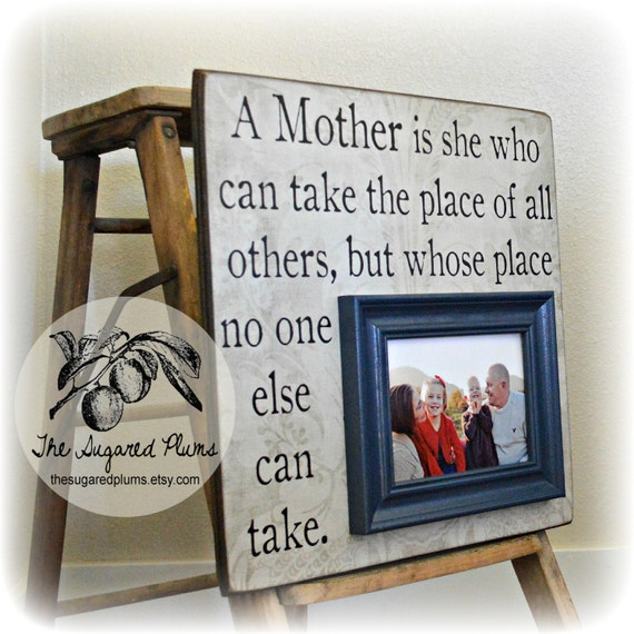 Mothers Day Gift Gift For Mom Personalized Picture Frame Etsy