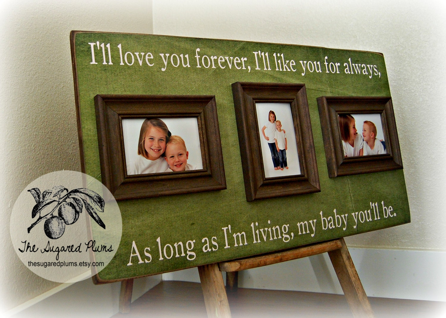 Picture Frame Mothers Day Personalized Mothers Day Gift