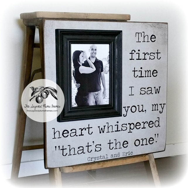 50th Anniversary Golden Anniversary Picture Frame You Are The