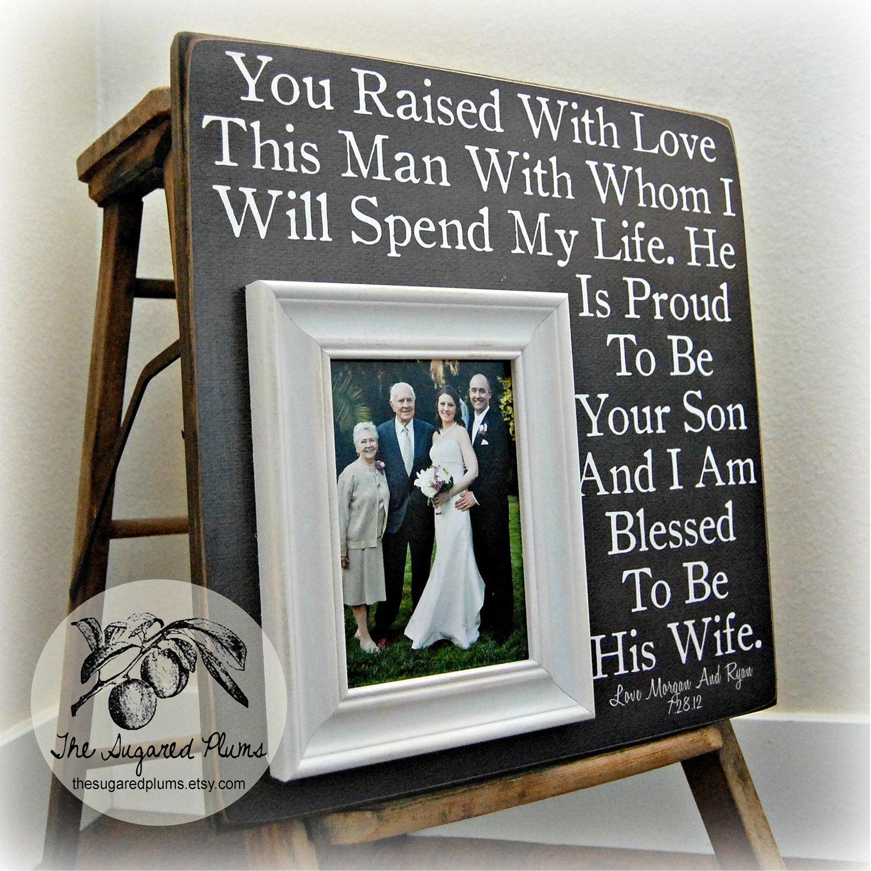 Mutter des Bräutigam-Geschenk Eltern Hochzeitsgeschenk Mann