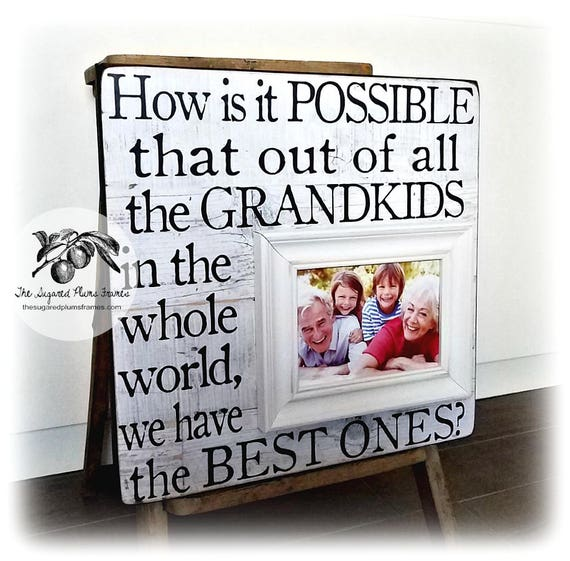Personalized Grandparent Gifts Grandma Gift Grandmother