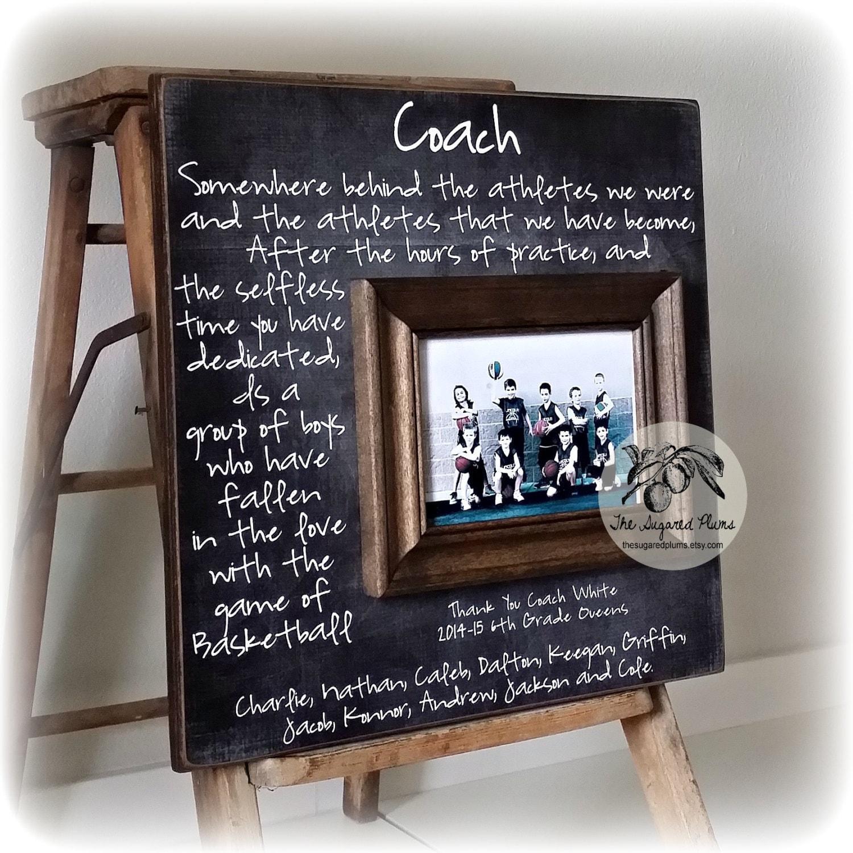 Individuelle Trainer-Bild-Rahmen-Geschenk Schwestern Sport | Etsy