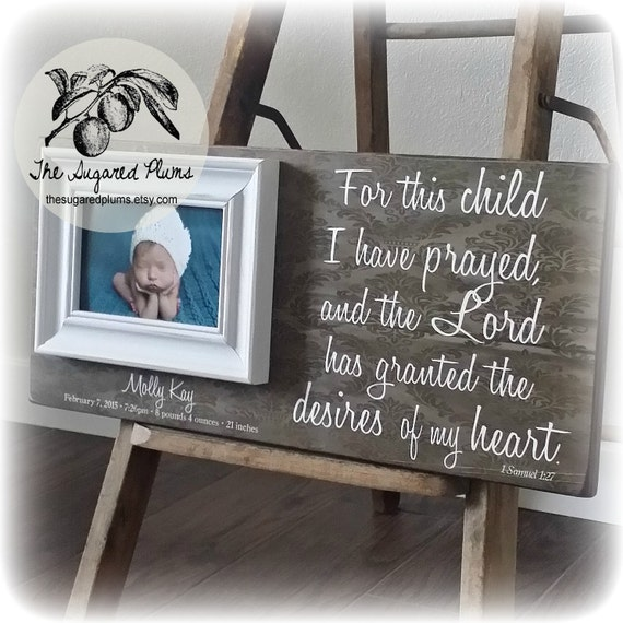 Adoption gifts personalized baby gifts infertility baby baby adoption gifts personalized baby gifts infertility baby baby frame baptism gift personalized picutre frame 8x20 the sugared plums from negle Image collections