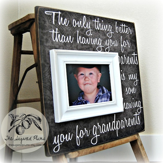 Gifts For Grandparents Personalized Picture Frame Mimi Etsy