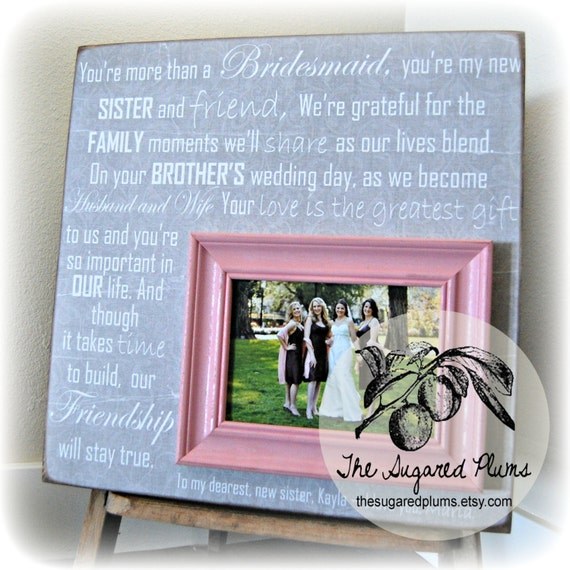What To Gift A Friend On Her Wedding: Bridesmaid Gift Best Friend Sister Maid Of Honor Wedding