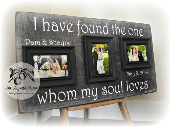 Unique Wedding Gift Personalized Wedding Gift Anniversary Etsy