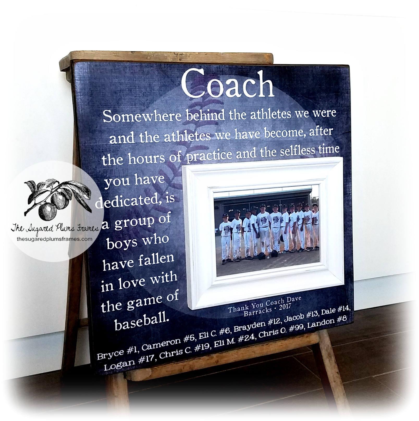Baseball-Trainer Geschenk Dankeschön Coach Baseball Team | Etsy