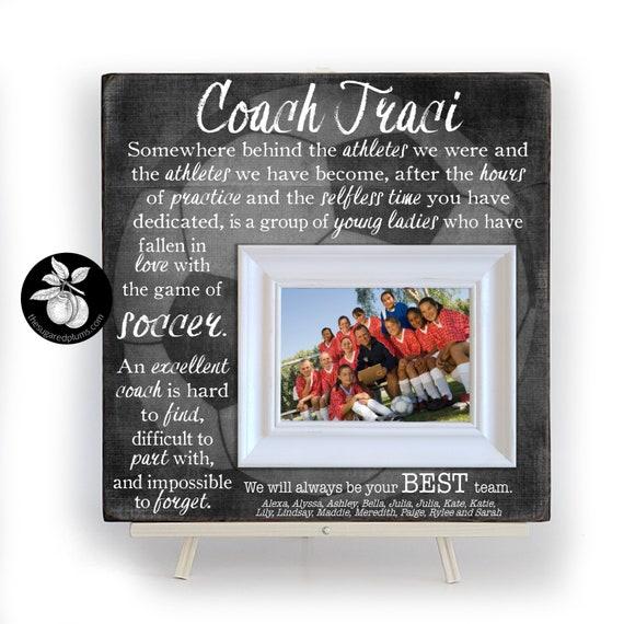 Fussball Trainer Geschenk Fussball Geschenke Coach Danke Geschenk Fussball Senior Geschenke Trainer Rahmen 16 X 16 Rahmen Die Gezuckerten Pflaumen
