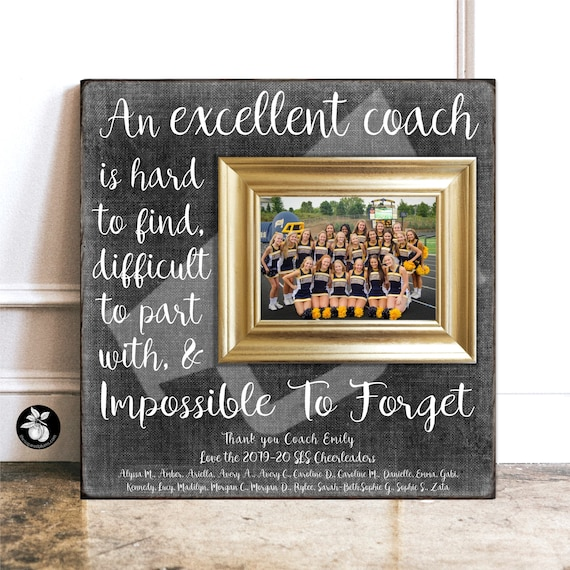 Personalized Cheer Team Picture Frame Gift for Cheer Team Cheer Team Gift Cheer Team Picture Frame
