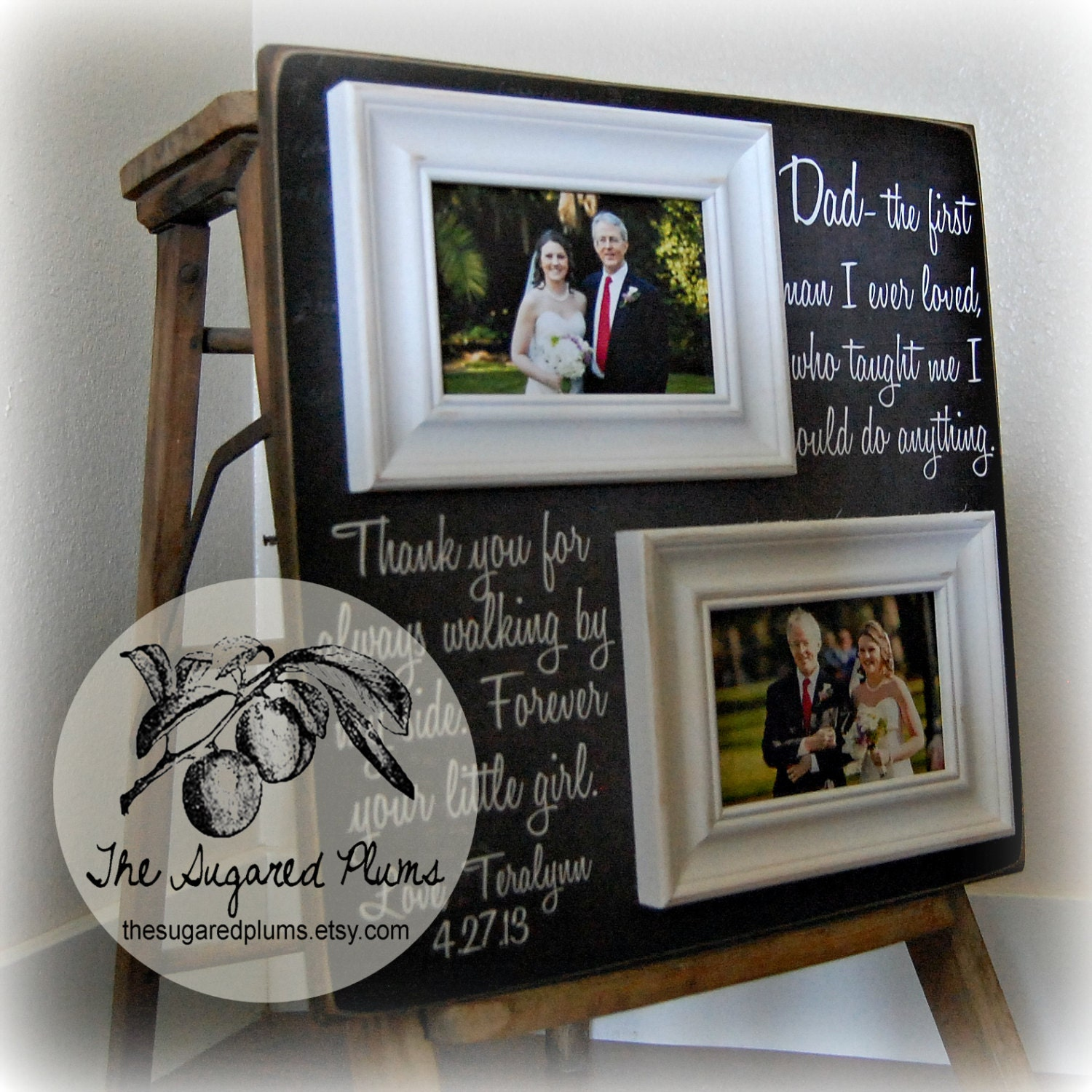 Father Of The Bride Gifts: Father Of The Bride Gift Daughter To Father Gift Dad The