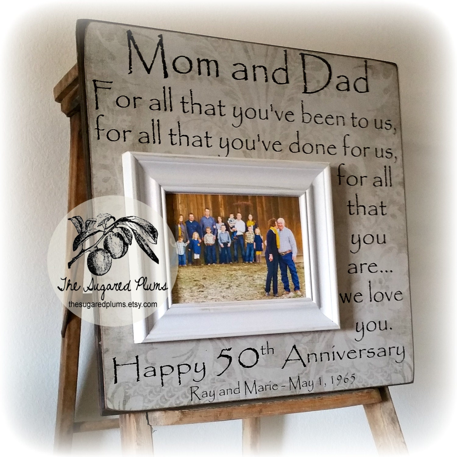 25th Wedding Anniversary Gift For Parents: 50th Anniversary Gifts Parents Anniversary Gift For All That