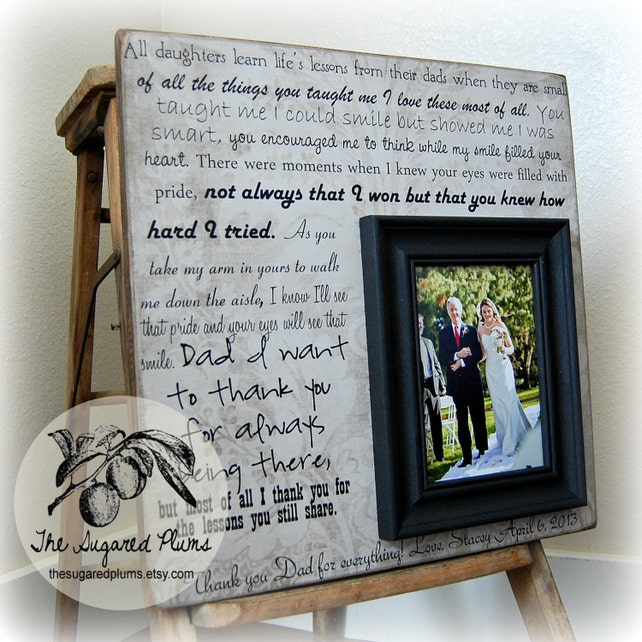 Father Of The Bride Gift Wedding Gift For Dad Father Wedding Thank