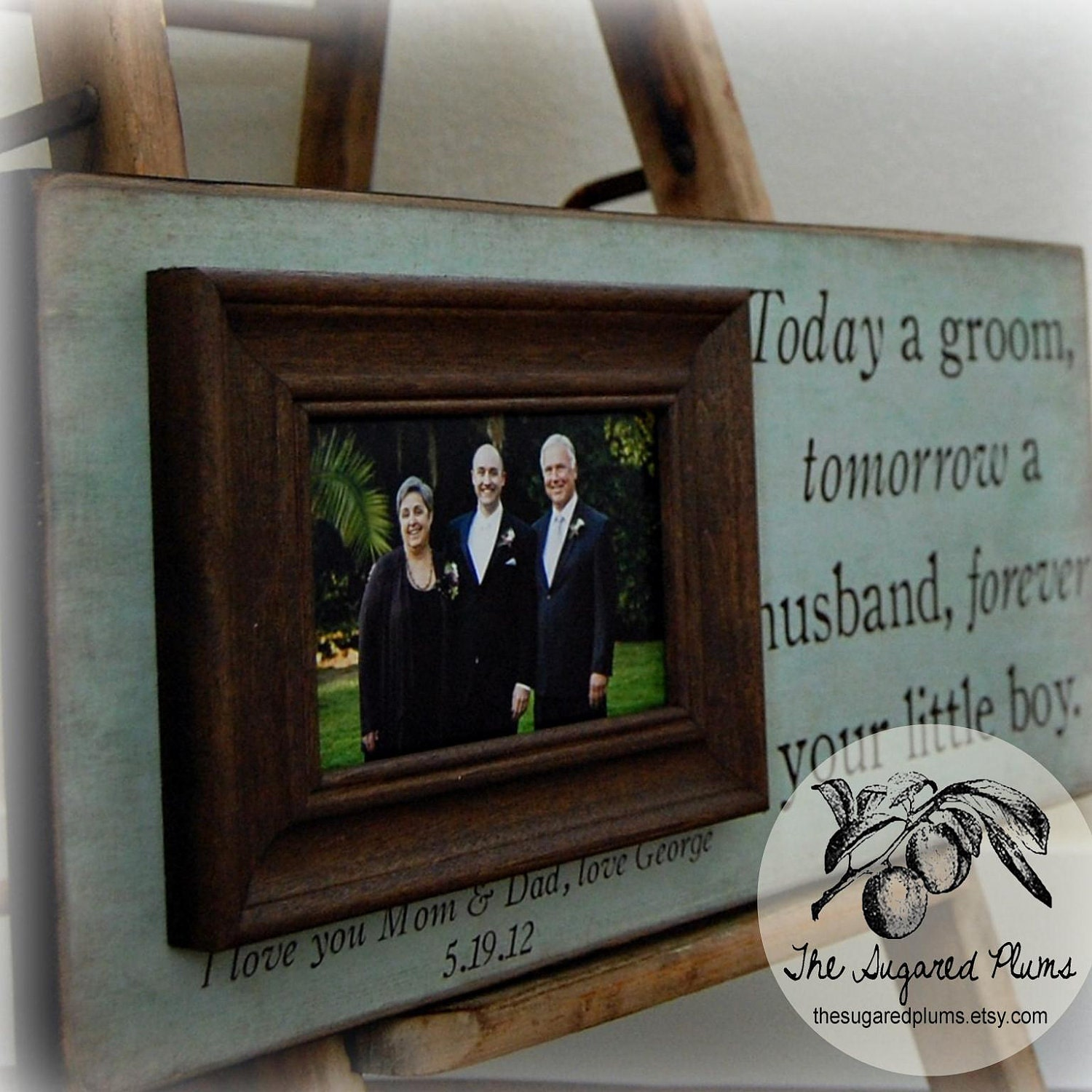 Parents Thank You Wedding Gift: Mother Of The Groom Gift Parents Thank You Gift Wedding