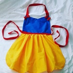 Snow White Kitchen or Play Adult Apron